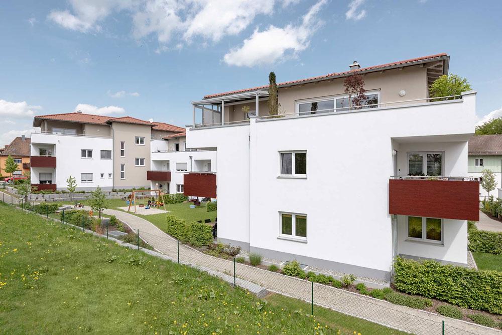 Mitterfelser Mitte - Haus - Brandschutz - IB Wagner