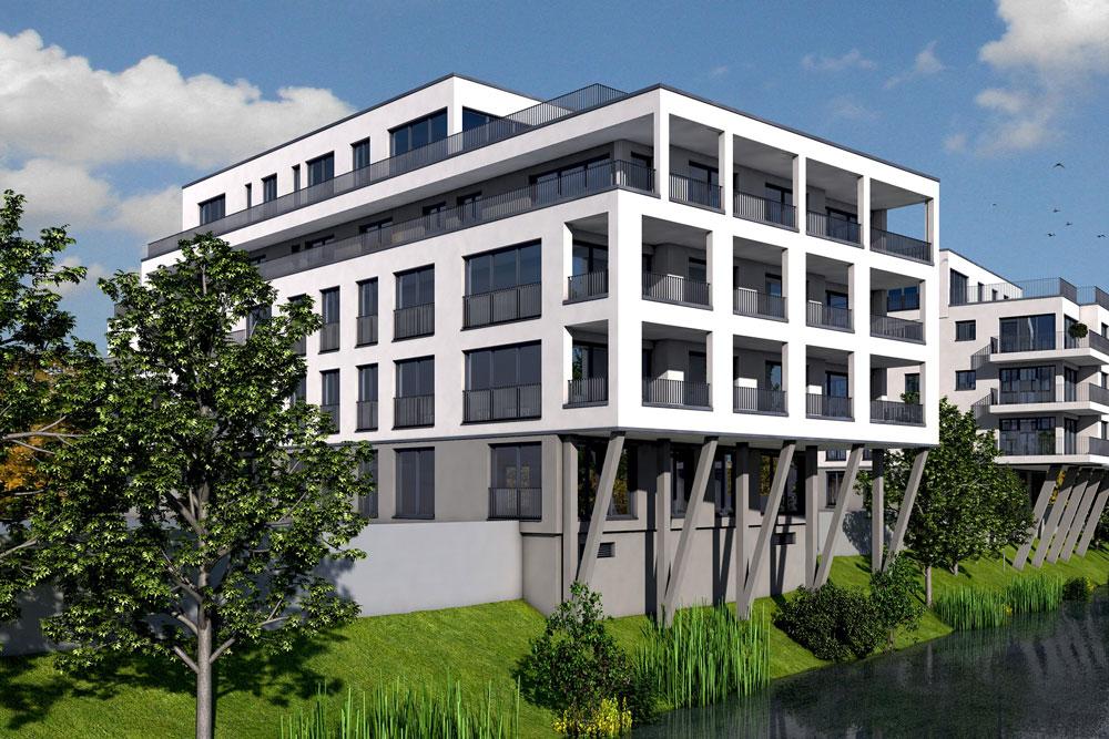Bauhaus-Bamberg am Werkkanal - Brandschutznachweis - IB Wagner